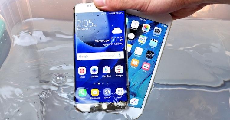 Galaxy S7 edge iPhone 7