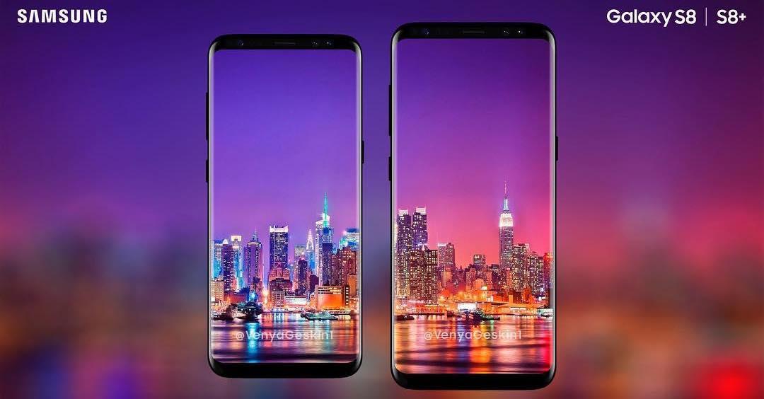 Galaxy S8 a Galaxy S8+