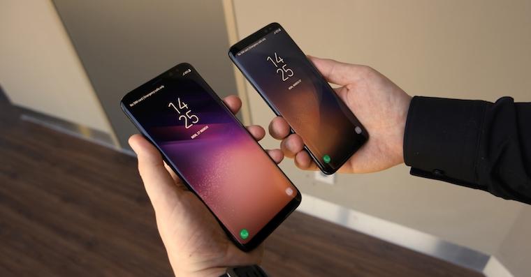 Galaxy S8 adn Galaxy S8+ FB